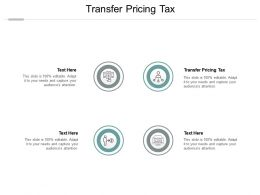 Transfer Pricing Tax Ppt Powerpoint Presentation Gallery Graphics Pictures Cpb