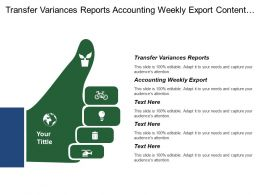 Transfer Variances Reports Accounting Weekly Export Content Service