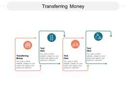 Transferring Money Ppt Powerpoint Presentation Portfolio Topics Cpb