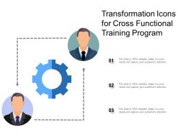 Transformation Icons For Cross Functional Training Program