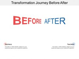 Transformation Journey Before After