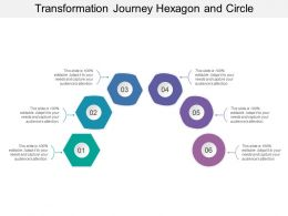 Transformation Journey Hexagon And Circle
