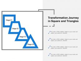 Transformation Journey In Square And Triangles