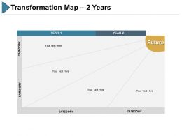 Transformation Map 2 Year Ppt Slides Styless