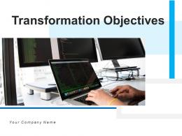 Transformation Objectives Business Marketing Management Resources Pyramid