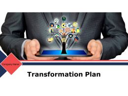 Transformation Plan Powerpoint Presentation Slides