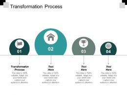 Transformation Process Ppt Slides Guidelines Cpb