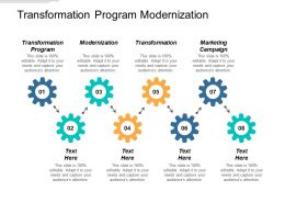 Transformation Program Modernization Transformation Marketing Campaign Cpb