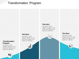 Transformation Program Ppt Powerpoint Presentation Layouts Maker Cpb