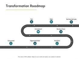 Transformation Roadmap Commitment Business Cases Ppt Powerpoint Presentation Icon Styles