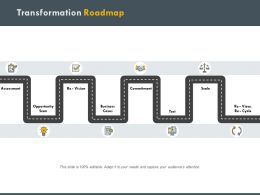 Transformation Roadmap Opportunity H196 Ppt Powerpoint Presentation Professional Graphics Design