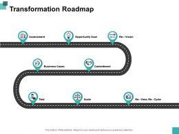 Transformation Roadmap Slide2 Ppt Powerpoint Presentation File Graphics Design