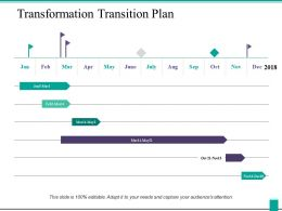 Transformation Transition Plan Ppt Powerpoint Presentation Icon Example