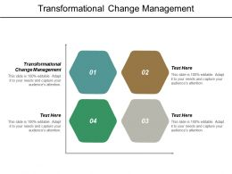 Transformational Change Management Ppt Powerpoint Presentation Pictures Introduction Cpb