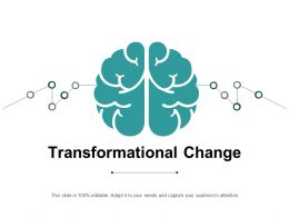 Transformational Change Ppt Powerpoint Presentation Portfolio Portrait Cpb