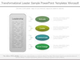 Transformational Leader Sample Powerpoint Templates Microsoft