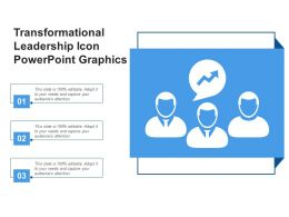 Transformational Leadership Icon Powerpoint Graphics