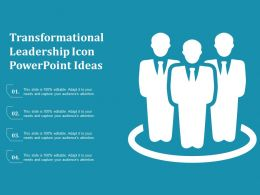 Transformational Leadership Icon Powerpoint Ideas