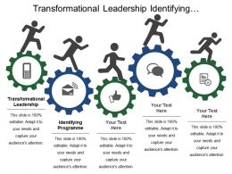 Transformational Leadership Identifying Programme Defining Programme
