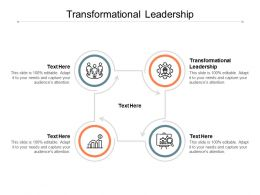 Transformational Leadership Ppt Powerpoint Presentation Gallery Example Cpb