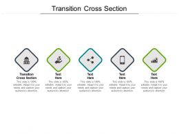 Transition Cross Section Ppt Powerpoint Presentation Professional Guidelines Cpb