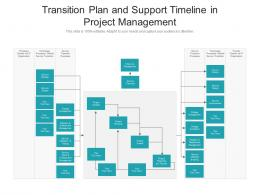 Transition Plan And Support Timeline In Project Management