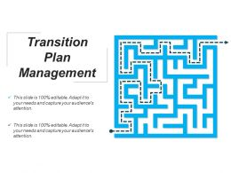 Transition Plan Management Powerpoint Slide Background Designs