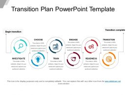 Transition Plan Powerpoint Template Powerpoint Shapes