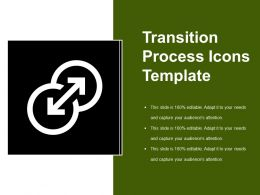 Transition Process Icons Template