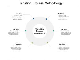Transition Process Methodology Ppt Powerpoint Presentation Summary Picture Cpb