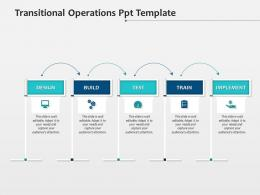 Transitional Operations Ppt Infographic Template