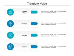 Translate Voice Ppt Powerpoint Presentation Pictures Show Cpb