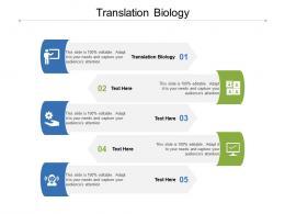 Translation Biology Ppt Powerpoint Presentation Layouts Deck Cpb