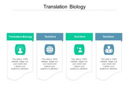 Translation Biology Ppt Powerpoint Presentation Layouts Example Cpb