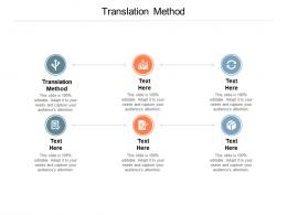 Translation Method Ppt Powerpoint Presentation Summary Templates Cpb