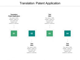Translation Patent Application Ppt Powerpoint Model Example Introduction Cpb