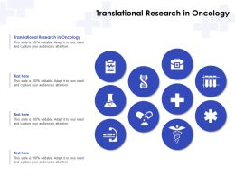 Translational Research In Oncology Ppt Powerpoint Presentation Gallery Structure