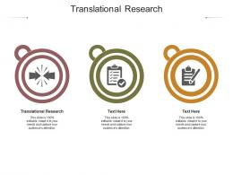 Translational Research Ppt Powerpoint Presentation Styles Picture Cpb