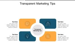 Transparent Marketing Tips Ppt Powerpoint Presentation Layouts Layouts Cpb