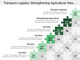 Transport Logistics Strengthening Agricultural New Information Technology Reality