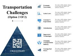 Transportation Challenges Ppt File Skills
