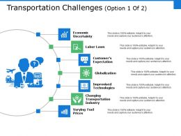Transportation Challenges Ppt Gallery Deck