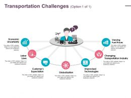 Transportation Challenges Ppt Ideas Visuals