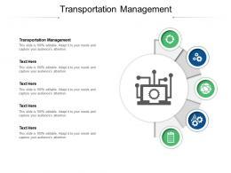 Transportation Management Ppt Powerpoint Presentation Show Vector Cpb