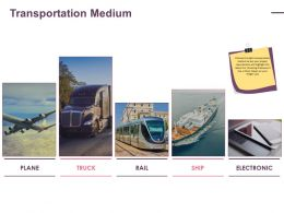 Transportation Medium Ppt Example