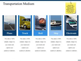 Transportation Medium Ppt Gallery Layouts