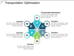 Transportation Optimization Ppt Powerpoint Presentation Pictures Graphics Tutorials Cpb