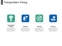 Transportation Pricing Ppt Powerpoint Presentation Show Good Cpb