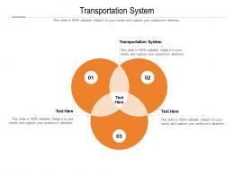 Transportation System Ppt Powerpoint Presentation Model Designs Download Cpb