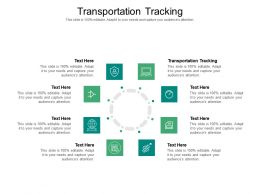 Transportation Tracking Ppt Powerpoint Presentation Layouts Slides Cpb